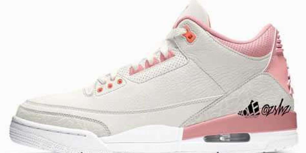"""Aj 4 WMNS """"Rust Pink"""" CK9246-116 Sail/Rust Pink-White-Crimson will be released in spring 2021"""