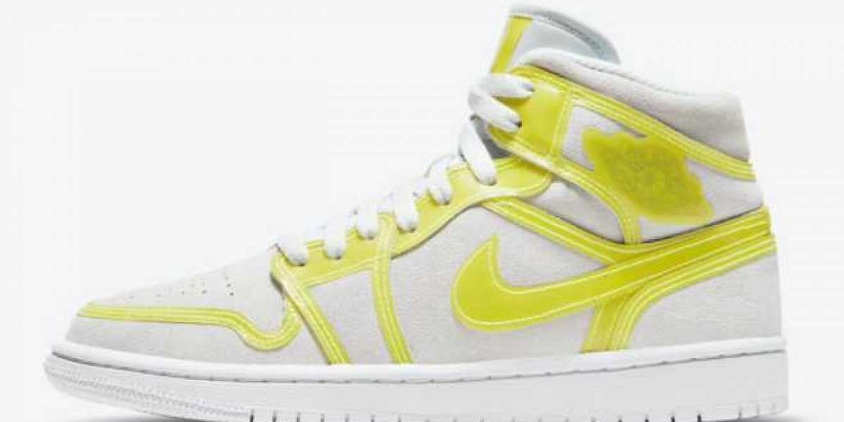 "Air Jordan 1 Mid LX ""Opti Yellow"" DA5552-107 will be officially released on February 26"