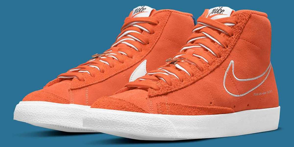 "Classic orange debut Nike Blazer Mid '77 ""first use"" DC3433-800"