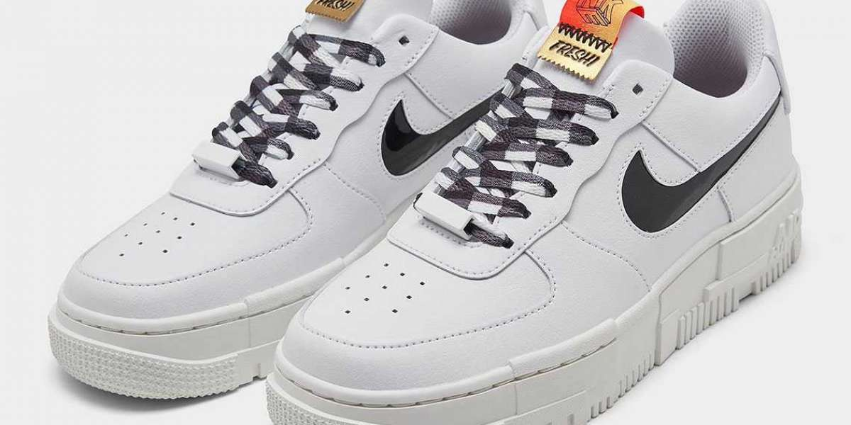 "DJ5529-100 Nike Air Force 1 Pixel ""FRESH!"" will arrive on May 18th"